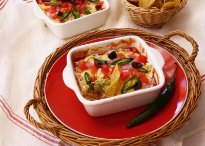 Layered Spicy Mexican Dip