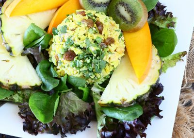 Curried Coconut Rice Salad